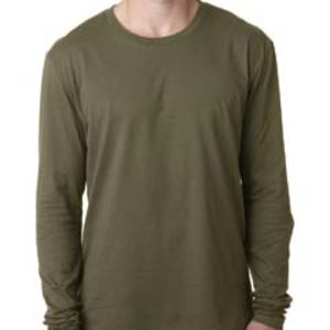 Next Level Men's Cotton Long-Sleeve Crew Thumbnail